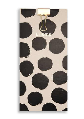 Silk Screen Printed Dots Shopping Pad