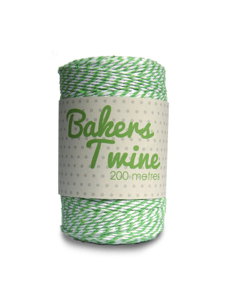 1973 Lime Bakers Twine Sold in 6's