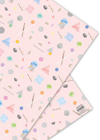 Oliver Bonas Astro Wrapping Paper Sold in 25's (ONLY AVAILABLE TO CUSTOMERS BASED OUTSIDE THE UK)