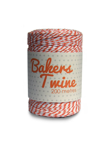 1973 Orange Bakers Twine Sold in 6's