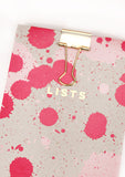 Silk Screenprinted Splat Shopping Pad