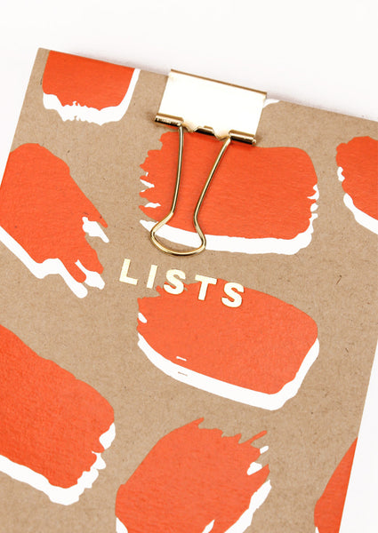 Silk Screenprinted Splodge Shopping Pad