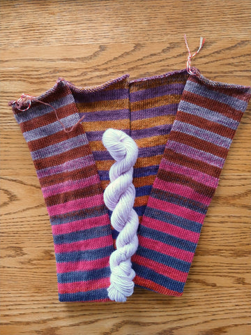 Urth Yarns Uneek Stripey Sock Tube Kits No. 62