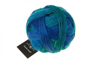 Zauberball-2360-Grinding-Turquoise-sock-wool-at-Eskdale-Yarns