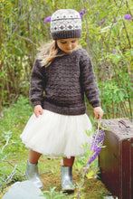 Load image into Gallery viewer, LisaF Avery Sweater and Hat pattern available at Eskdale Yarns
