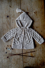 Load image into Gallery viewer, Angel Jacket Lisaf Baby Knitting pattern at Eskdale Yarns