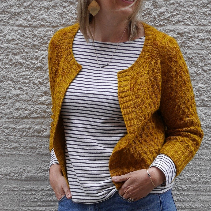 Beekeeper pattern by Olive Knits at Eskdale Yarns NZ