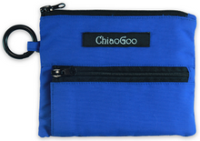Load image into Gallery viewer, ChiaoGoo-Blue-Shorties-Pocket-Pouch-available-at-Eskdale-Yarns