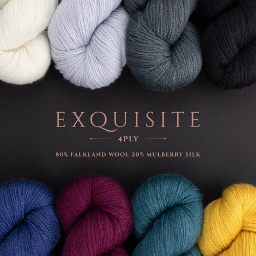 West Yorkshire Spinners Exquisite 4 ply at Eskdale Yarns NZ