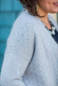 Kapua Cardigan paper and digital pattern by Truly Myrtle at Eskdale Yarns
