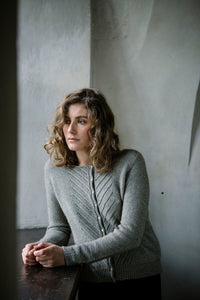 Kate cardigan pattern by Truly Myrtle at Eskdale Yarns