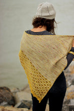 Load image into Gallery viewer, Siren Song Shawl paper and digital pattern by Truly Myrtle