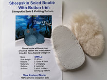 Load image into Gallery viewer, Sheepskin Sole Bootie Kit