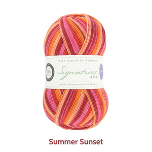 Summer Sunset by West Yorkshire Spinners and Winwick Mum at Eskdale Yarns