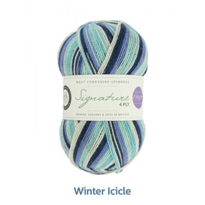 Winter Icicle by West Yorkshire Spinners and Winwick Mum at Eskdale Yarns