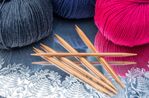 Chiaogoo-bamboo-double-point-needles-DPNS-at-Eskdale-yarns