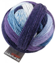 Load image into Gallery viewer, Zauberball-100-Merino-yarn-1699-Lilac-Flower-at-Eskdale-Yarns