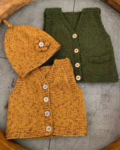 Ava and Archie Vintage Vest and Hat