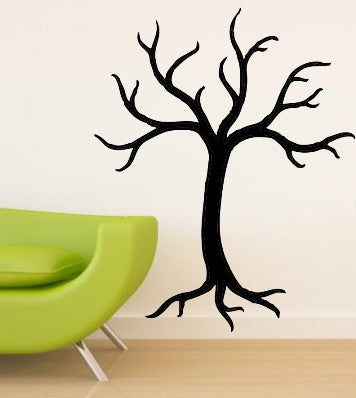 Bare Tree Wall Art Sticker Vinyl Decal Various Sizes