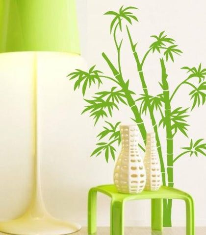 Bamboo Wall Art Sticker Vinyl Decal Various Sizes