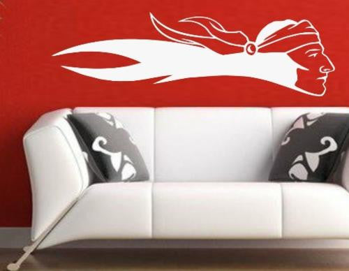 American Indian Scout Wall Art Sticker Vinyl Decal Various Sizes