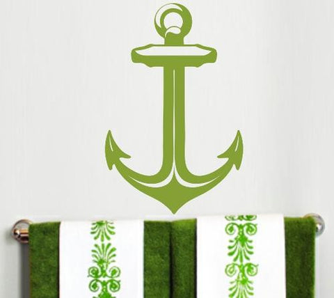 NAUTICAL ANCHOR 3 WALL ART STICKER XLRG VINYL DECAL - Vinyl Lady Decals  - 1