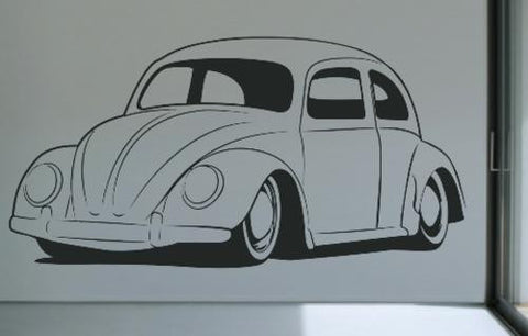 VW BEETLE CAR 10 WALL ART STICKER LRG VINYL DECAL - Vinyl Lady Decals  - 1