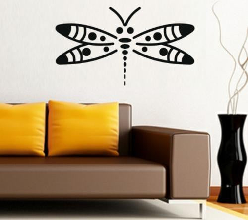 Dragonfly Insect Wall Art Sticker Vinyl Decal Various Sizes