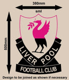 RETRO LIVERPOOL FOOTBALL CLUB LOGO WALL ART STICKER XLRG VINYL DECAL - Vinyl Lady Decals  - 6