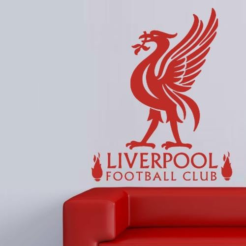 LIVERPOOL FOOTBALL CLUB DESIGN 3 WALL ART STICKER XLRG VINYL DECAL - Vinyl Lady Decals  - 1