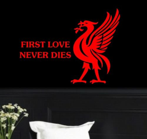 LIVERPOOL FOOTBALL CLUB DESIGN 5 WALL ART STICKER LRG VINYL DECAL - Vinyl Lady Decals  - 1
