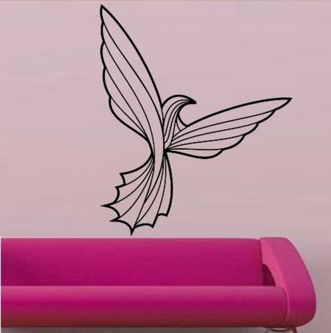 STYLISED BIRD 5 WALL ART STICKER XLRG VINYL DECAL - Vinyl Lady Decals  - 1