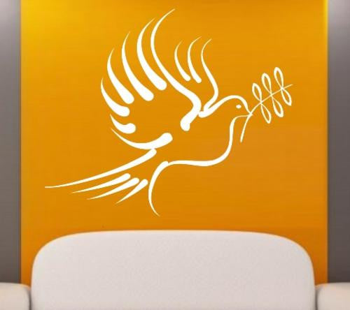 Dove of Peace Wall Art Sticker Vinyl Decal Various Sizes