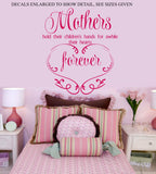Mothers and Children Quote Wall Art Sticker Vinyl Decal Various Sizes