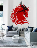 Warrior Horse Wall Art Sticker Vinyl Decal Various Sizes