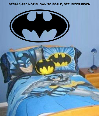 Batman Wings Wall Art Sticker Vinyl Decal Various Sizes