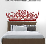 Calligraphy Headboard Design Wall Art Sticker Vinyl Decal Various Sizes