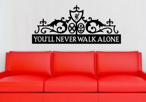 Liverpool Football Club Wall Art Sticker Vinyl Decal Various Sizes