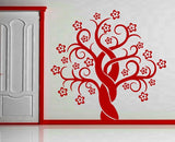 Antique Tree  Wall Art Sticker Vinyl Decal Various Sizes
