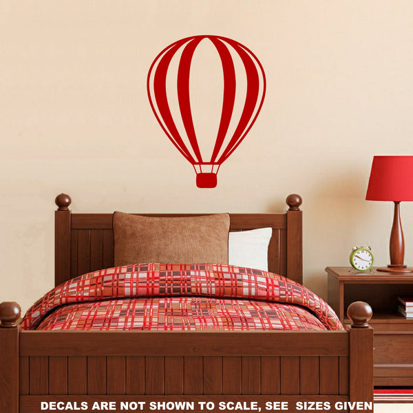 Hot Air Balloon Wall Art Sticker Vinyl Decal Various Sizes