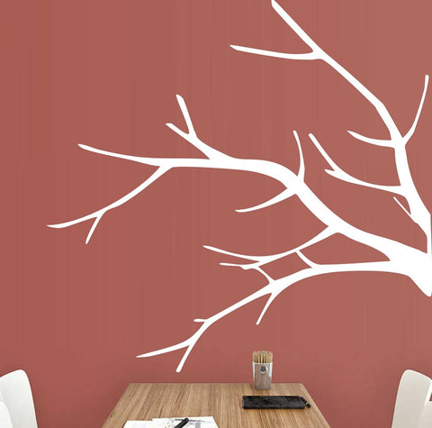 Bare Branch Wall Art Sticker Vinyl Decal Various Sizes