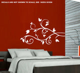 Leafy Branch Wall Art Sticker Vinyl Decal Various Sizes