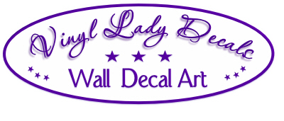 Vinyl Lady Decals