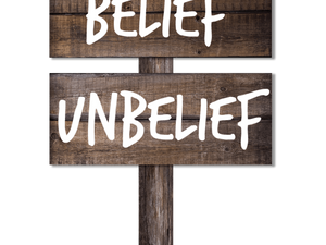 THE GOD WE SHOULD BELIEVE IN, or, The Disastrous Digression of Unbelief