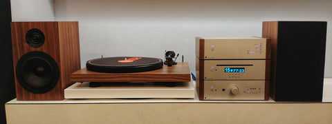 Project Hifi System - Walnut