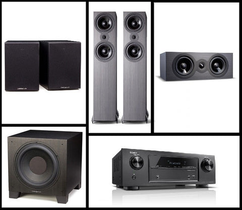 Cambridge Audio & Denon 5.1 Home Theatre Bundle