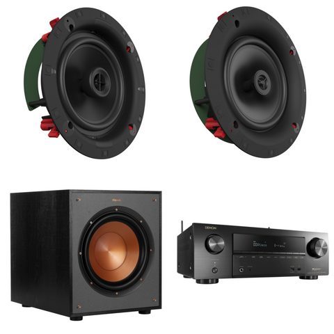 Klipsch In-Ceiling Atmos HT Package
