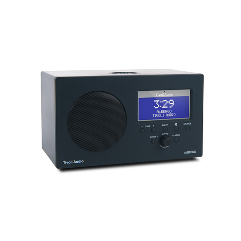 Tivoli Audio Albergo+ FM/DAB+ Clock Radio with Bluetooth