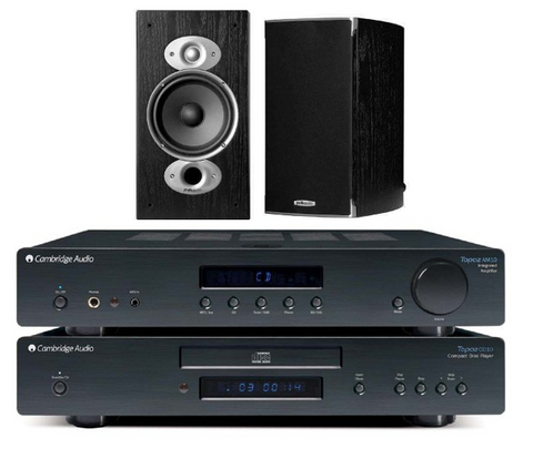 Cambridge Audio AM10/CD10/Polk RTI A1