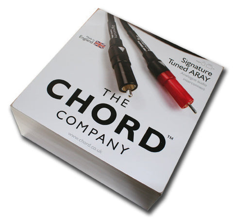 The Chord Company Signature Tuned ARAY RCA Interconnect